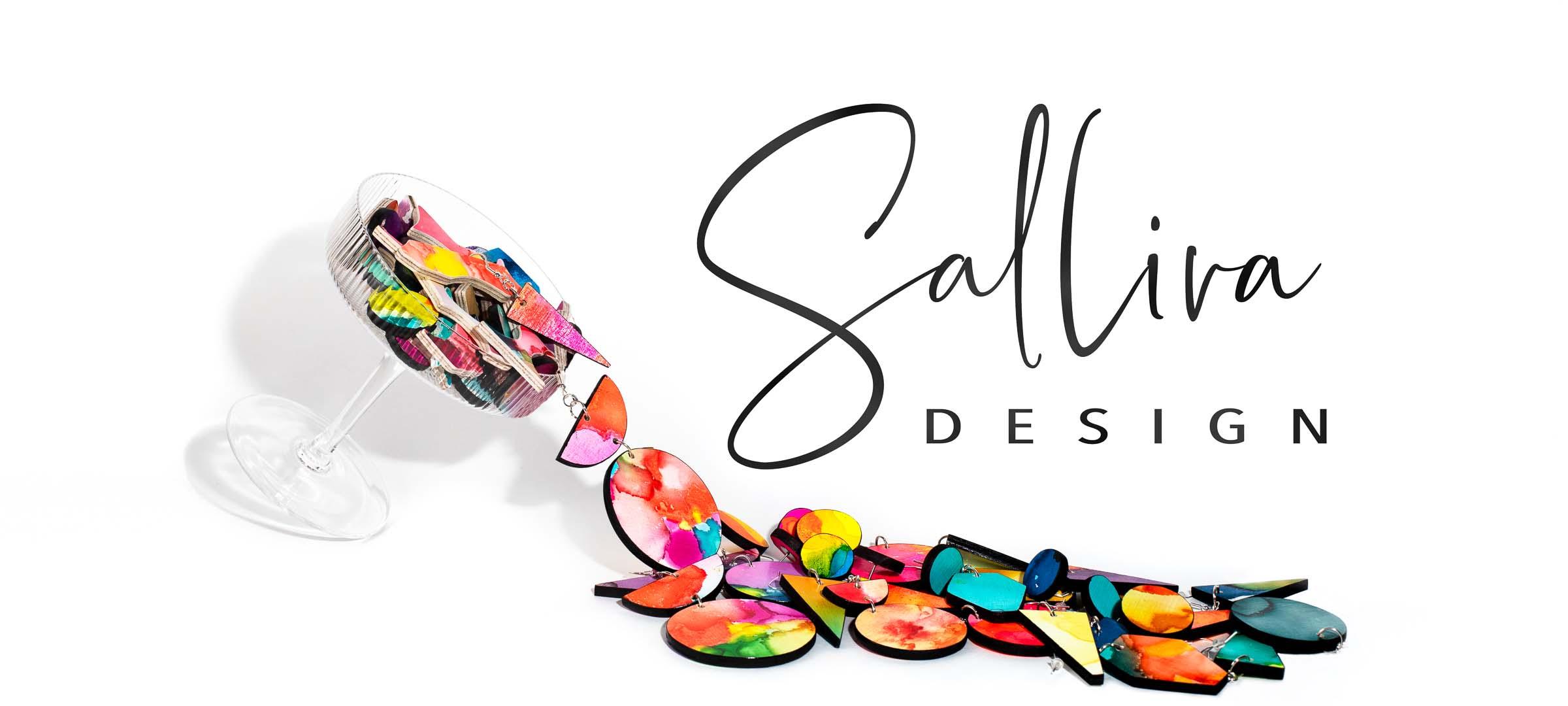 Salliva design logo